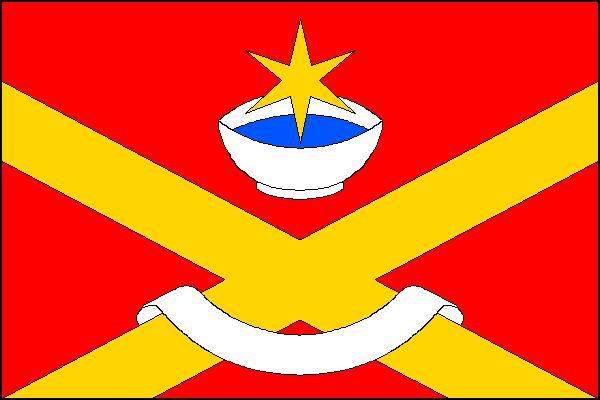 Hovorčovice - vlajka