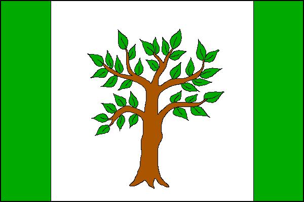Hrabyně - vlajka