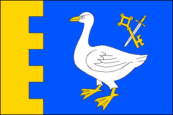 Hrádek - vlajka