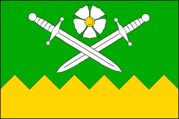 Hradiště - vlajka