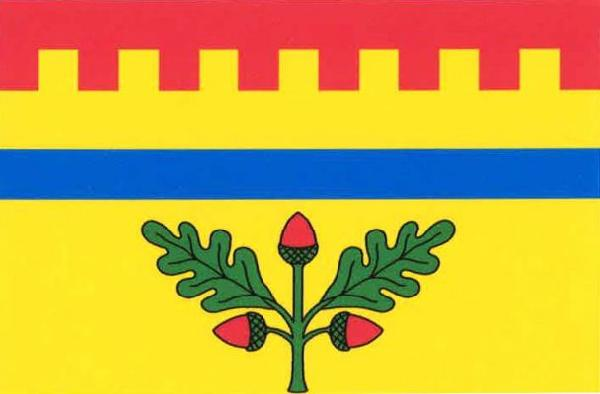 Hradištko - vlajka