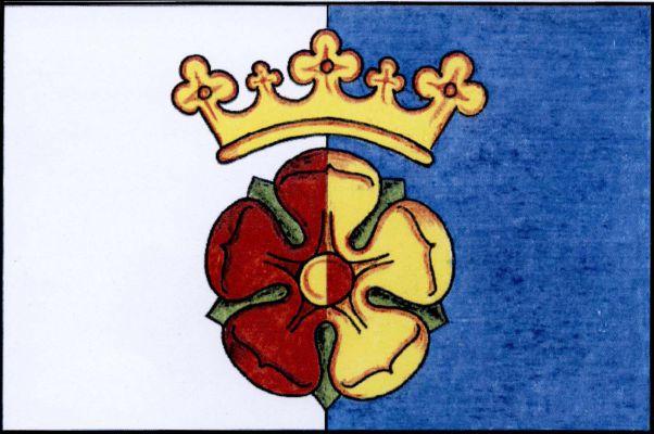Hrdějovice - vlajka