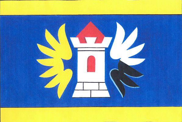 Hrubá Skála - vlajka