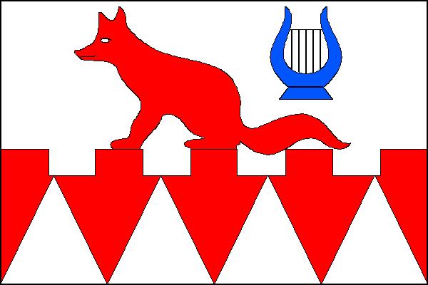 Hukvaldy - vlajka