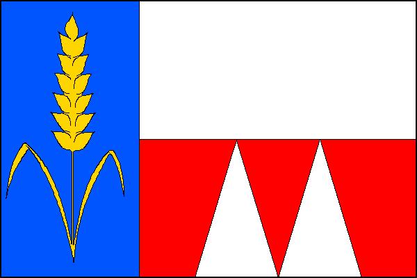 Hulín - vlajka