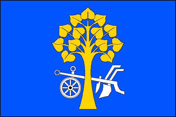 Huštěnovice - vlajka