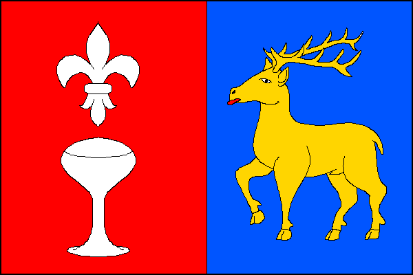 Hutisko-Solanec - vlajka