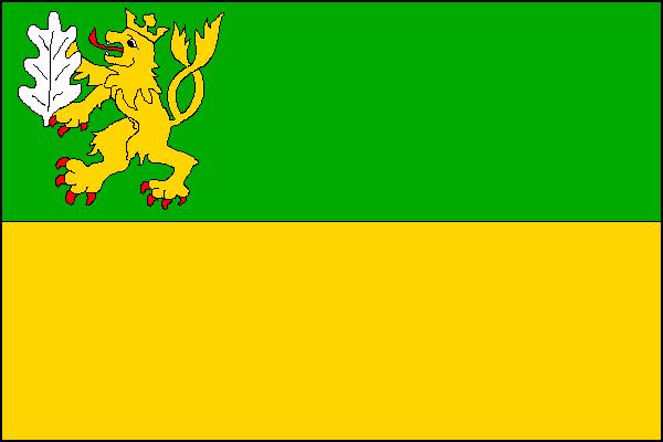 Hvozdná - vlajka