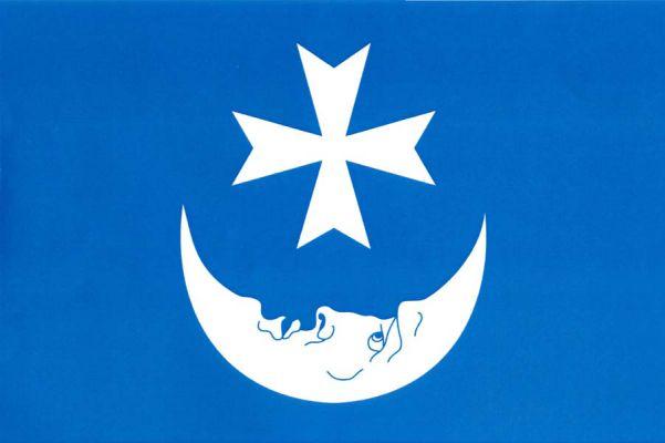 Ivanovice na Hané - vlajka