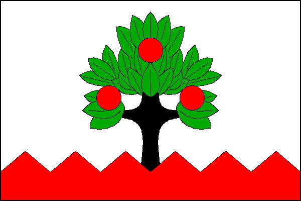 Jablůnka - vlajka