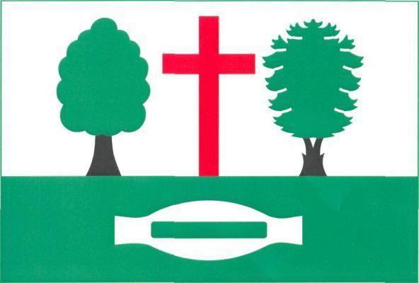 Janov - vlajka