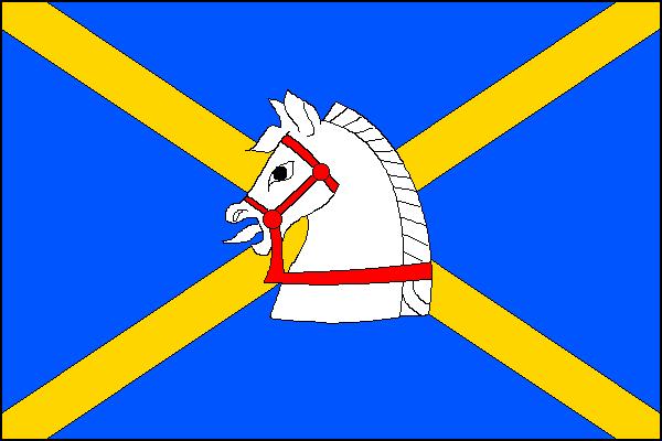 Jasenná - vlajka