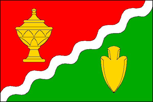 Jeřice - vlajka