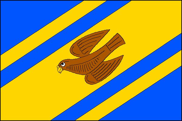 Jestřabí - vlajka