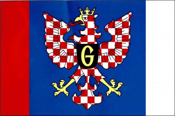 Jevíčko - vlajka