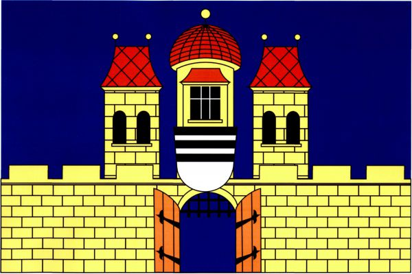 Jevišovice - vlajka