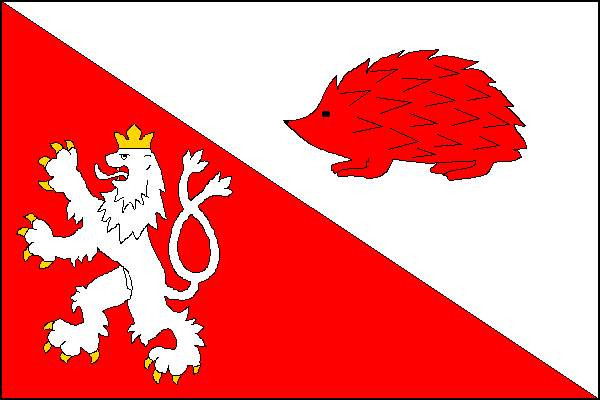 Jihlava - vlajka