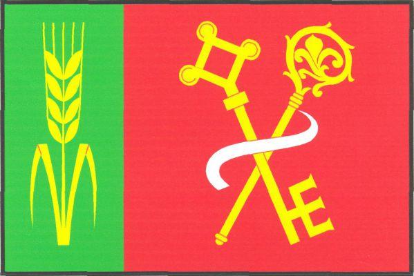 Jílovice - vlajka