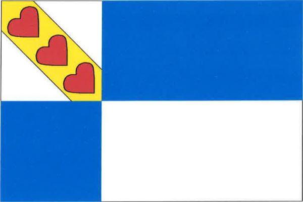 Jirkov - vlajka