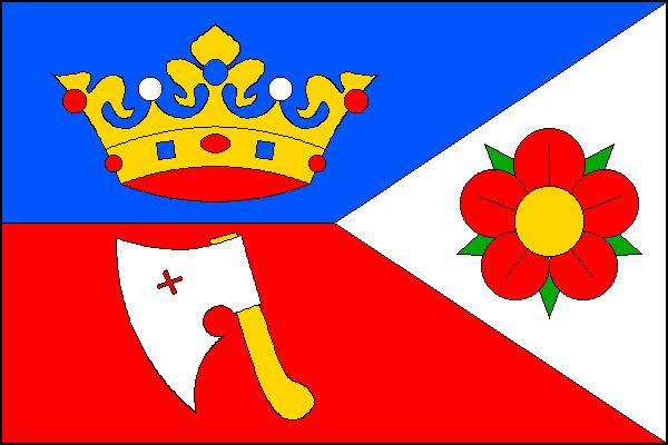 Kájov - vlajka