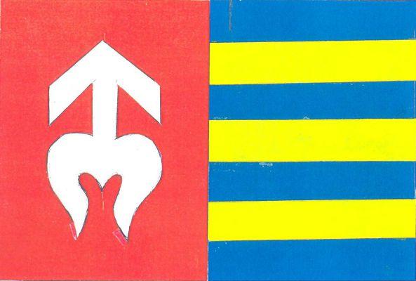 Kaliště - vlajka