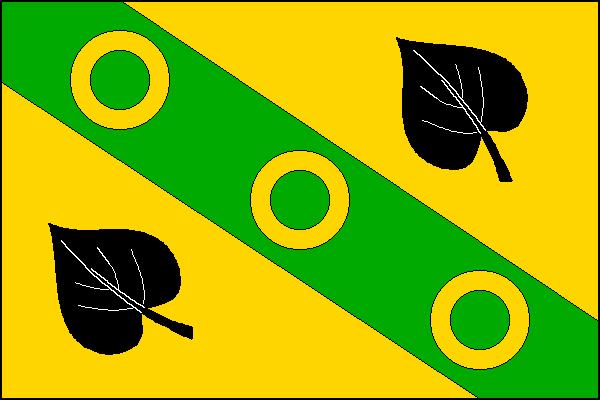 Kamenice - vlajka