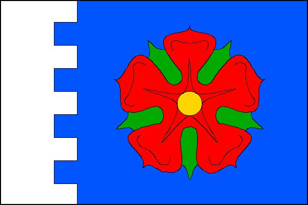 Kaplice - vlajka