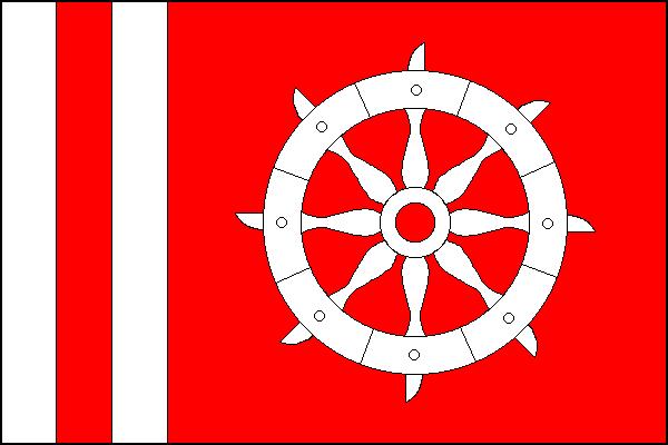 Kateřinice - vlajka