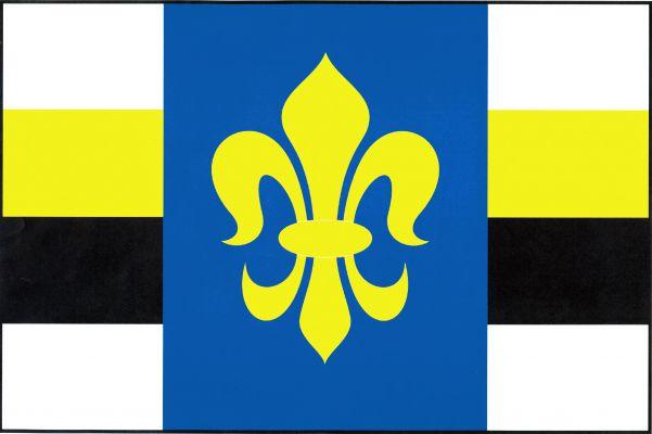 Kladno - vlajka