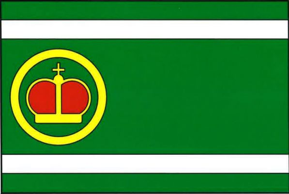 Kladruby - vlajka