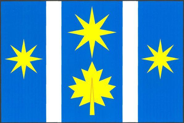 Klášter - vlajka