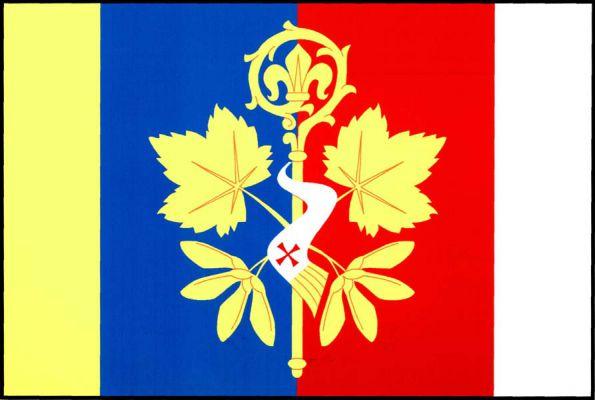 Klenovice - vlajka