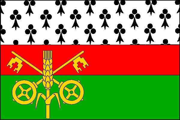 Kněževes - vlajka