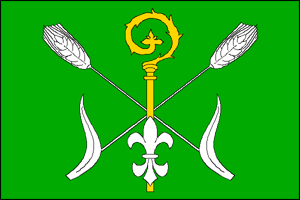 Kobeřice - vlajka