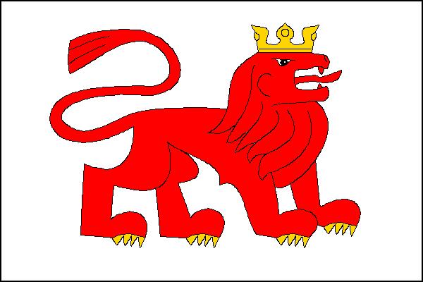 Konstantinovy Lázně - vlajka