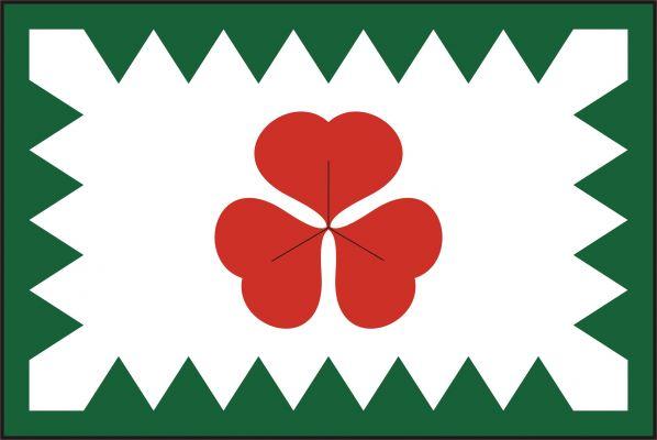 Kopřivná - vlajka