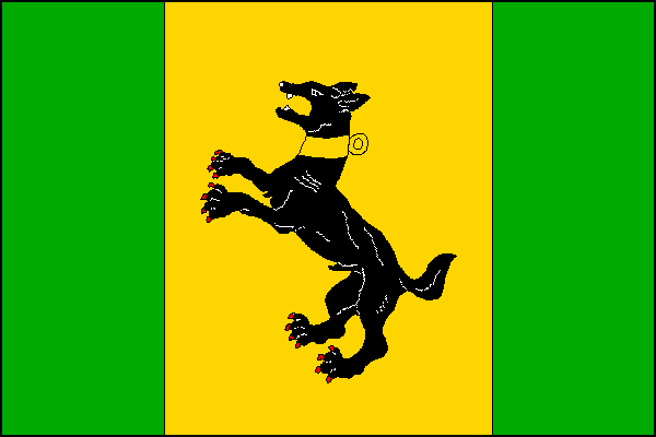Kostelany - vlajka