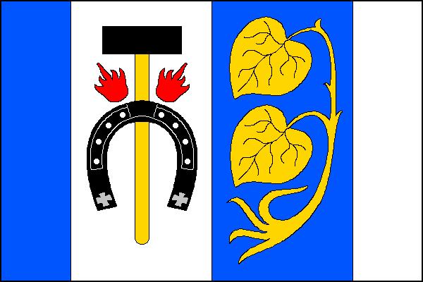 Kovanice - vlajka