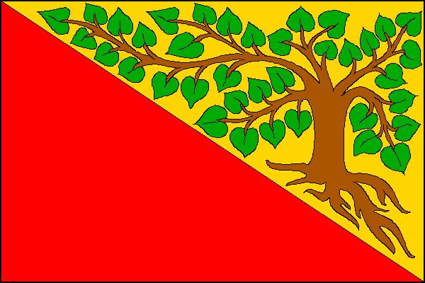 Krásná Lípa - vlajka
