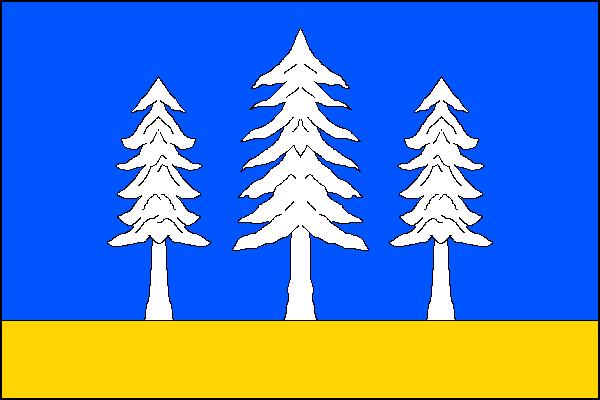 Krásná - vlajka
