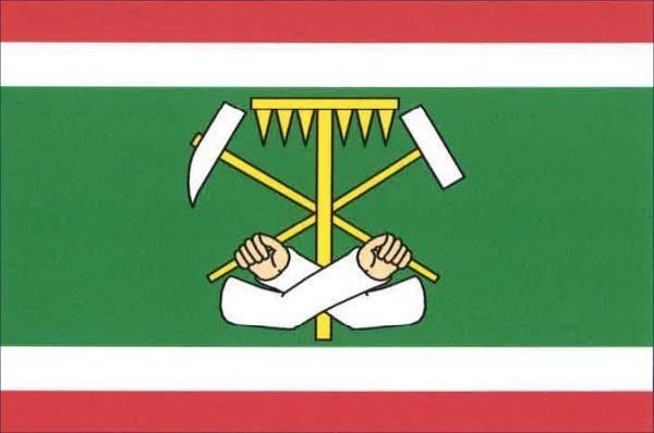 Krásno - vlajka