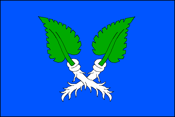 Křenovice - vlajka