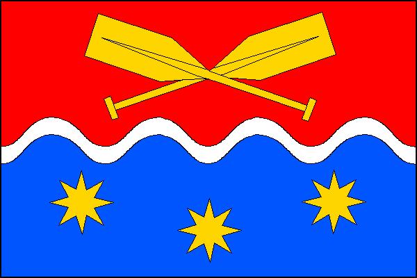 Krhanice - vlajka