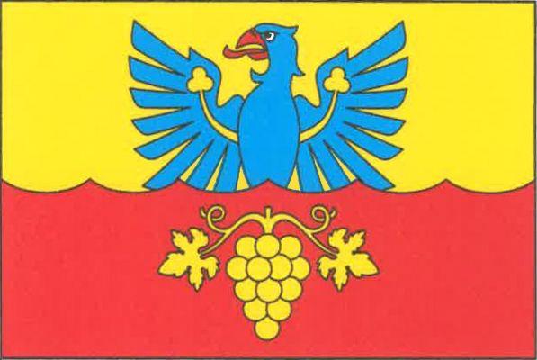 Krhovice - vlajka