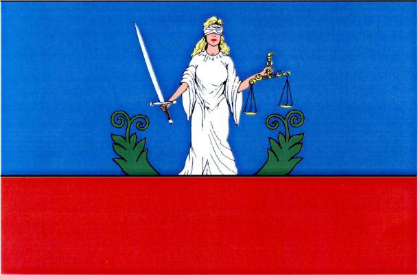 Křinec - vlajka