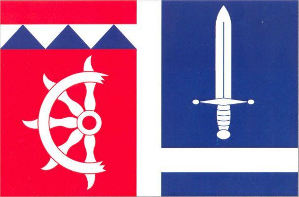 Křižovatka - vlajka