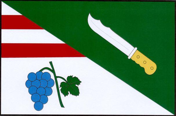 Krumvíř - vlajka