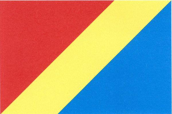 Krupka - vlajka