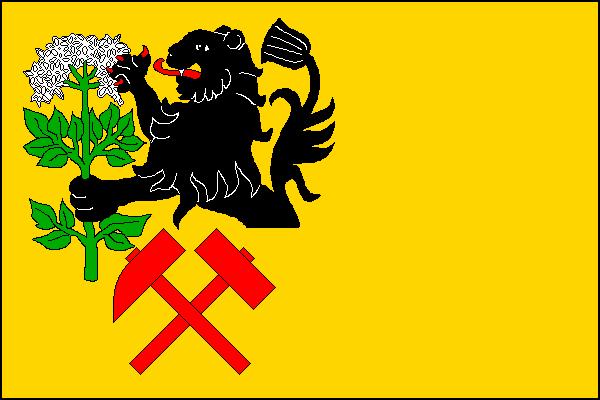Kryštofovo Údolí - vlajka