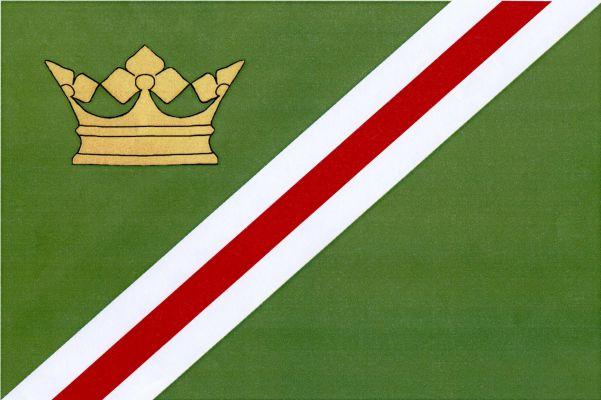 Ktiš - vlajka